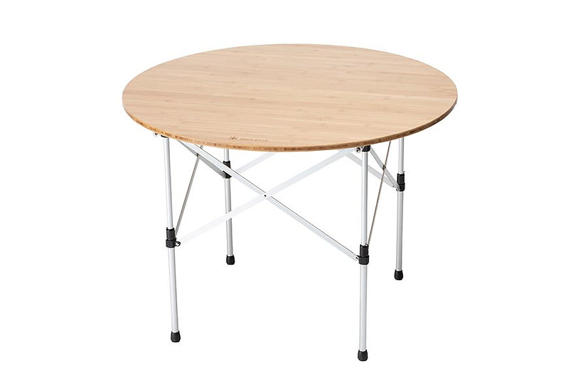 Low Table Round Bamboo