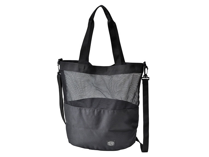 Active Mesh 2way Shoulder Bag Black