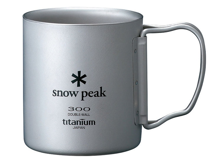Titanium Double Wall Cup 300ml