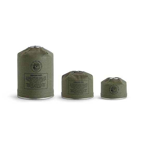 Waxed Canvas Gas Canister Cover