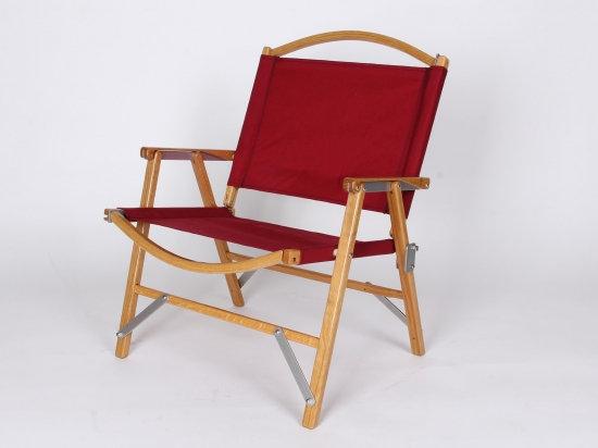Kermit Chair WIDE Oak Burgundy