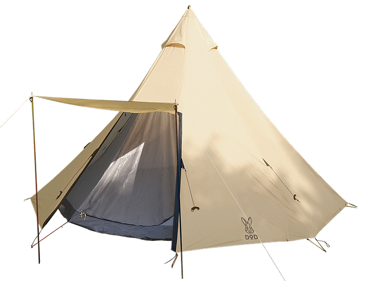 DoD BIG ONE POLE TENT NATURAL SERIES สำหรับ 8 คน