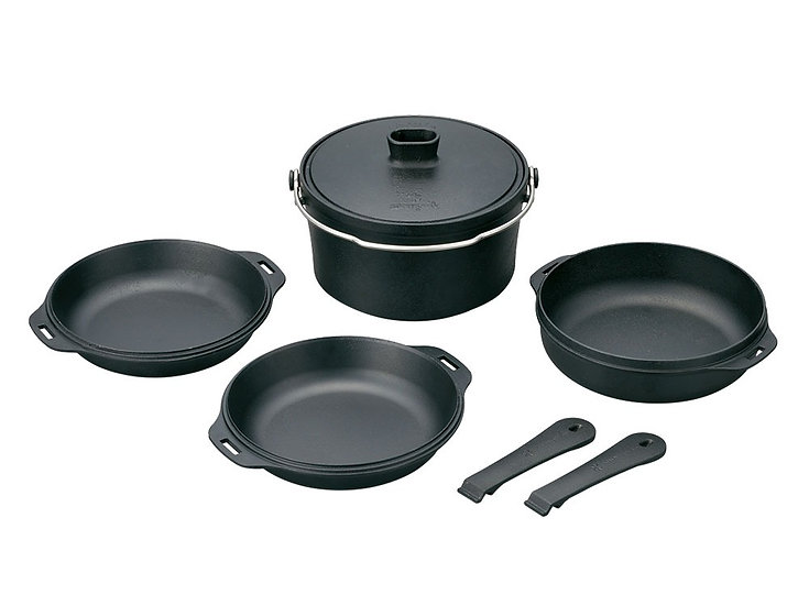 Cast Iron Duo Cooker