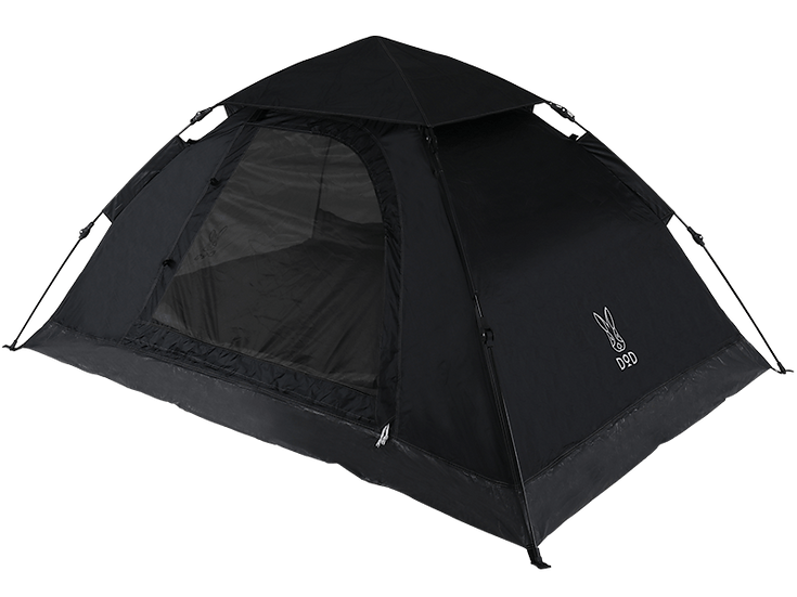 ONE TOUCH TENT Black