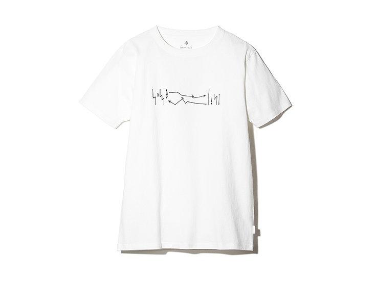 Snow Peak Printed Tshirt Artwork 4 M WH