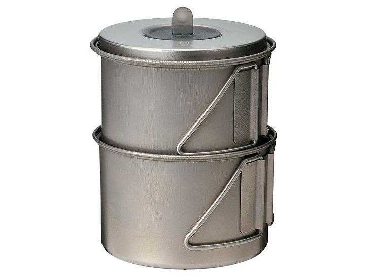 Mini Solo Cook Set Titanium