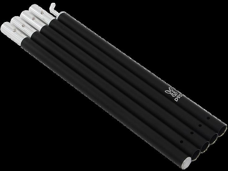 DoD BIG TARP POLE 250cm Black