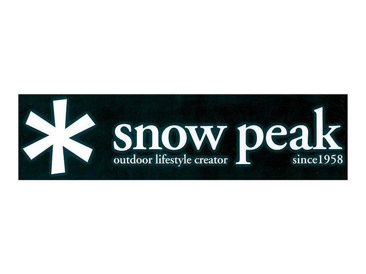 Snow Peak Logo Sticker Asterisk