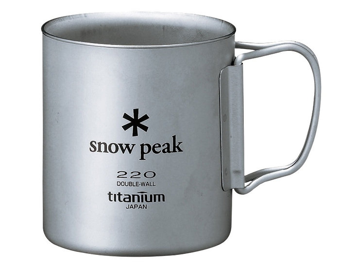 Titanium Double Wall Cup 220ml