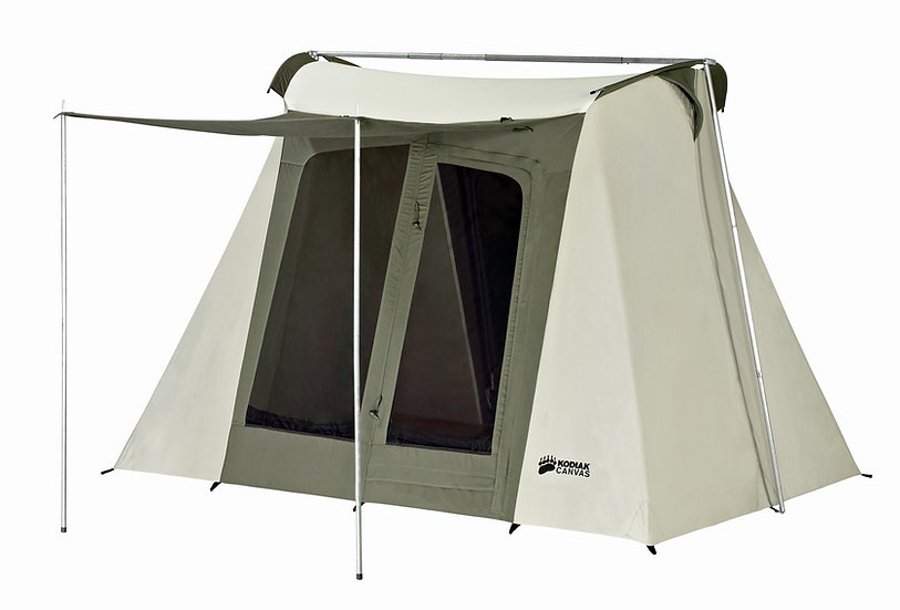Kodiak 9 x 8 ft. Flex-Bow Canvas Tent Deluxe *รับสินค้าปลายเดือนตุลาคม