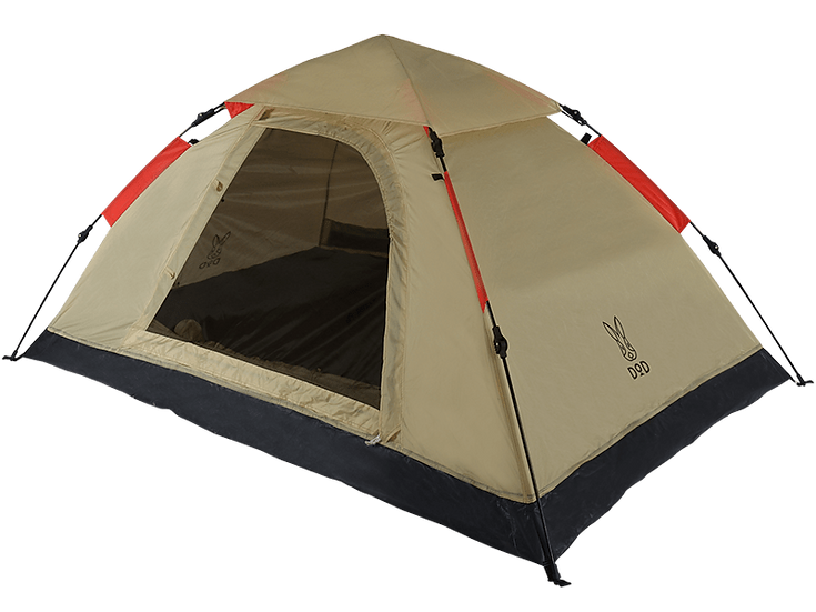 ONE TOUCH TENT เบจ