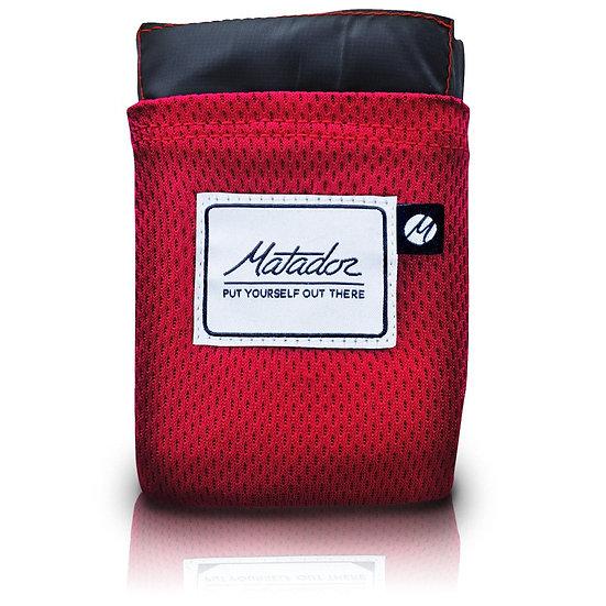 Matador Pocket Blanket สีแดง (Version.2)
