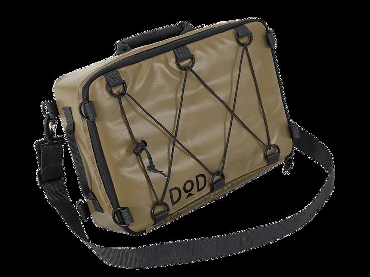 DoD RIDER'S COOLER BAG TAN