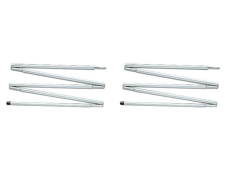 Light Tarp Pole 125cm x 2set