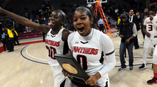 Imhotep Panthers win the Philadelphia Public League Girls' Basketball Championship