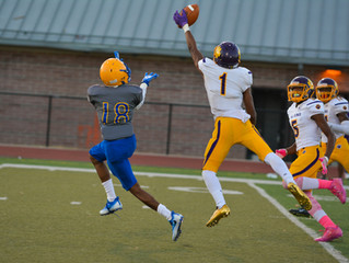 Martin Luther King Cougars light up Ben Franklin Electrons, 43-6