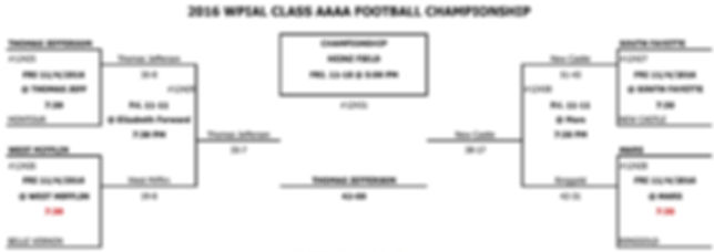 2016 PIAA District 7 4A Football (WPIAL)