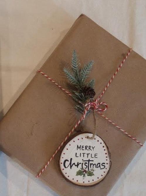 Merry Little Christmas Ornament