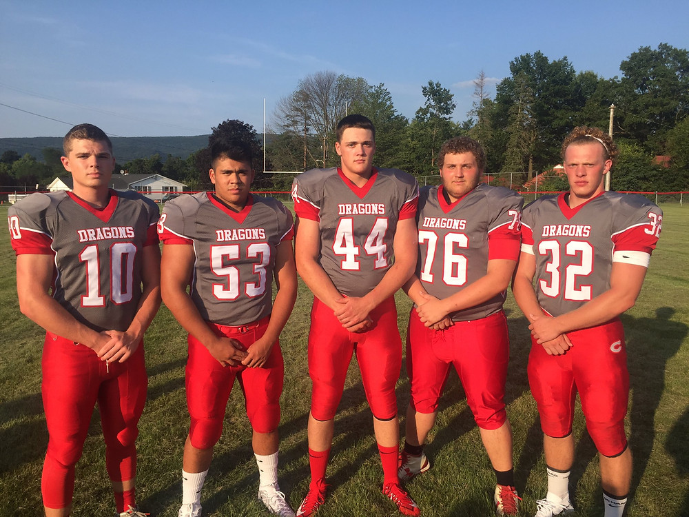Dragon picture night. Introducing our 2017 captains Photo Credit: CentralDragonFB Twitter