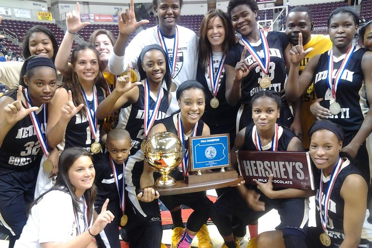 2015 State Neumann-Goretti Girl's Basketball Team. Photo Credit:  Joe Santoliquito/For Phillyvoice.com