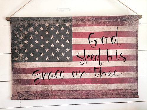 Flag Canvas 24x36in