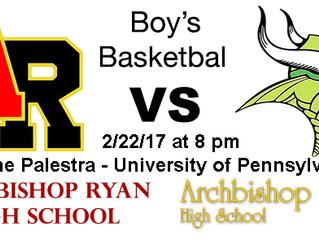 Philadelphia Catholic League Boy's Basketball Semifinal Preview - #1 Archbishop Wood vs. #4 Arch