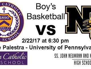 Philadelphia Catholic League Boy's Basketball Semifinal Preview - #2 Neumann-Goretti vs. #3 Roma
