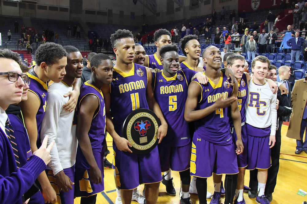 Last year Roman Catholic took home the PCL Title behind superb guard play of current Penn State standouts Tony Carr and Lamar Stevens Photo Credit BigStar2Raw