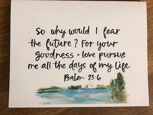 Psalm 23- Set of 8 Notecards