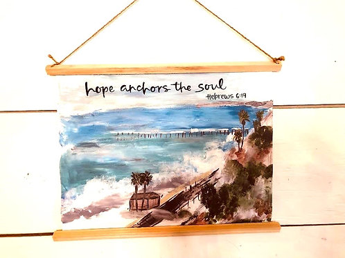 Hope Anchors the Soul Canvas