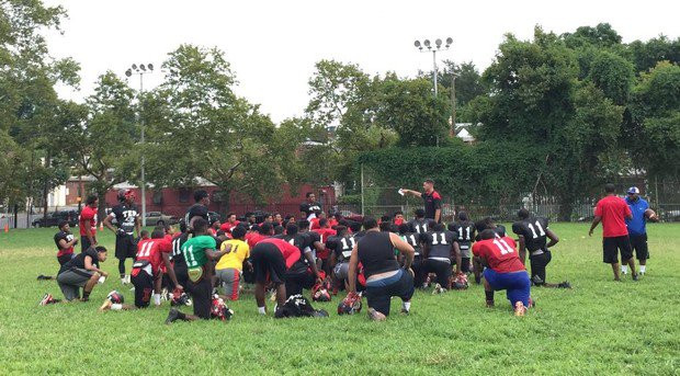 Imhotep Football Training Camp. Photo Credit: @PA_Preps - Twitter
