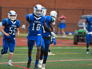 Norristown Eagles roll over Methacton, 35-0, for their second win of the year