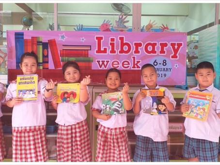 กิจกรรมสัปดาห์ห้องสมุด The Libray Week 6-8 February 2019