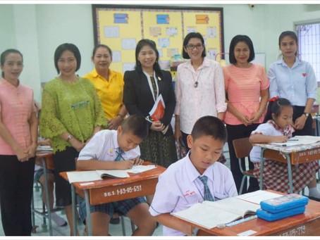 นักเรียนเข้าร่วมสอบประเมินคุณภาพการศึกษาขั้นพื้นฐาน (NT: National Test) ระดับชั้นป.๓