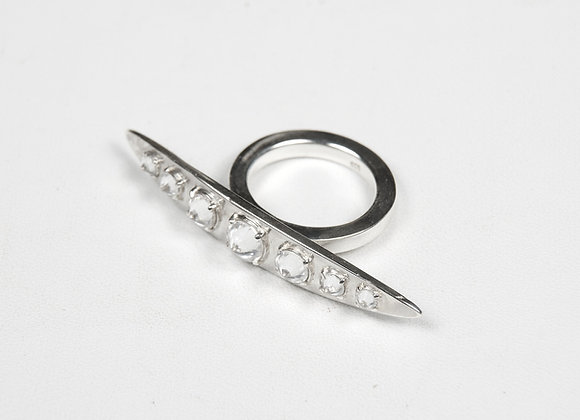 Knuckle Ring CZ