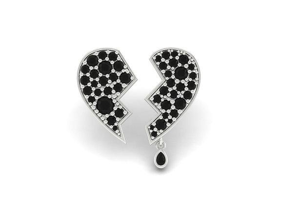 Broken Hearted Earrings