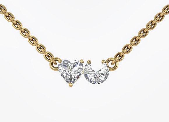 """""""Heart U""""Diamond Necklace"""