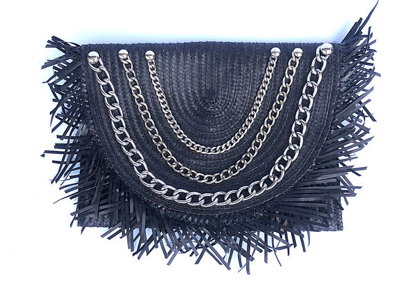Woven Chain Clutch