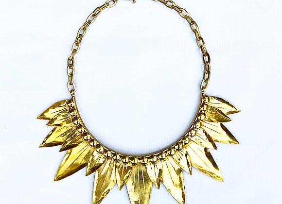 Statement Lotus Necklace