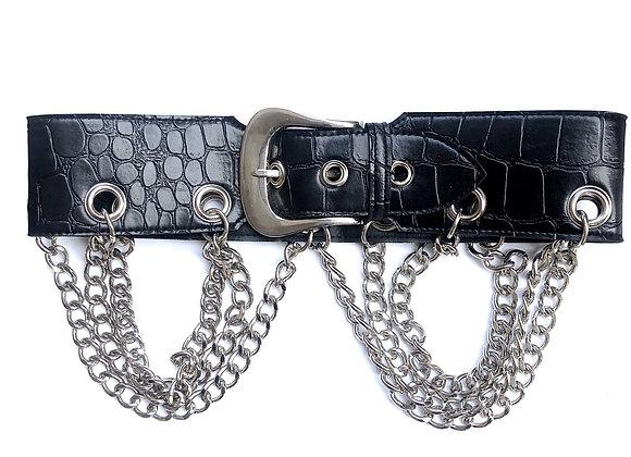 Croc Dom Belt