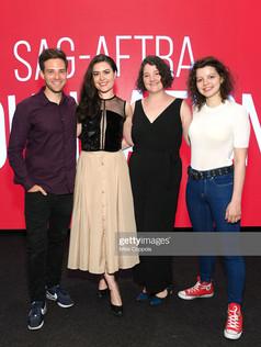 left to right: Ben Rappaport, Cait Cortelyou, Rachel Carey, Chloe Levine
