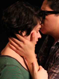 Cait Cortelyou and George Salazar