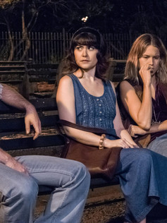 left to right: Michael Rabe, Cait Cortelyou, Cody Horn