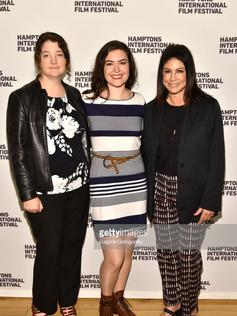 left to right: Rachel Carey, Cait Cortelyou, Caroline Hirsch