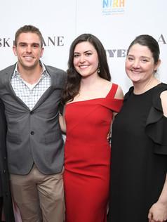 left to right: Caroline Hirsch, Josh Folan, Cait Cortelyou, Rachel Carey
