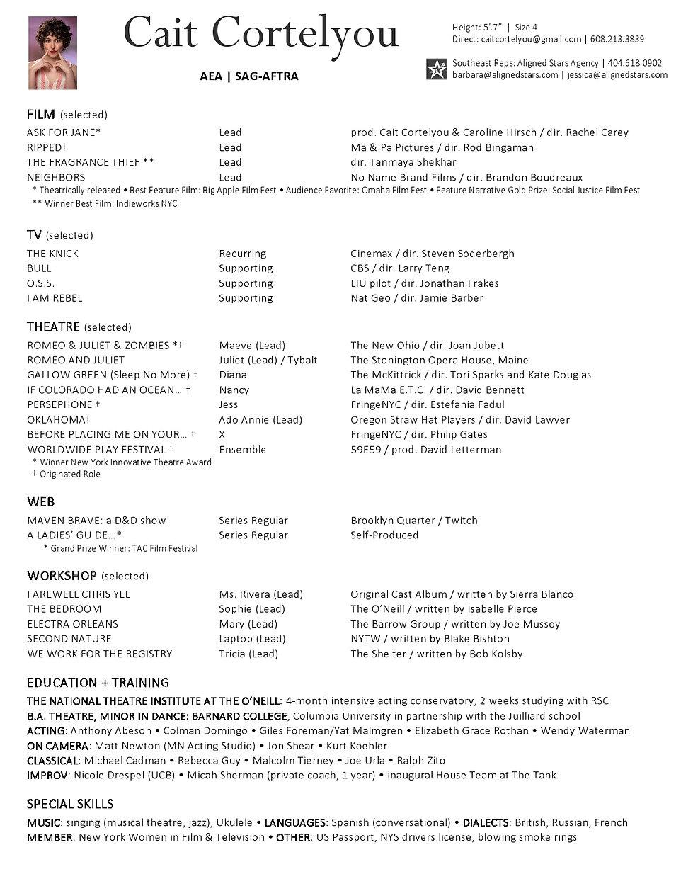 Cait Cortelyou resume (January 2021)-pag