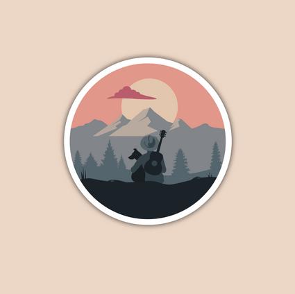 Indie Folk | Logo Látványterv