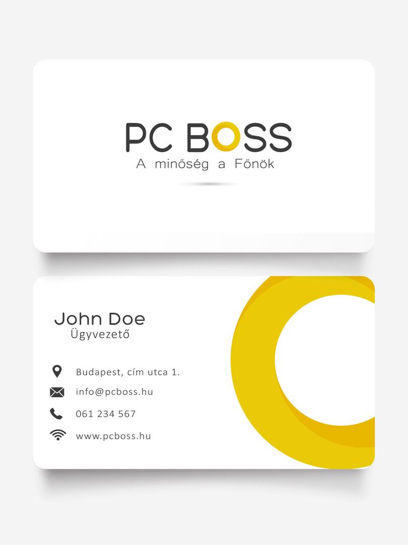 PC Boss | Minimal Logo