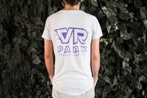 VR Mobil Park | Staff Póló (back)