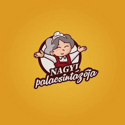 Nagyi Palacsintázója | Classic Logo Újratervezve